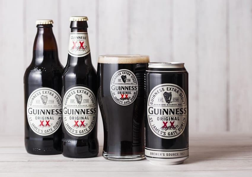 Guinness Beer Bottles