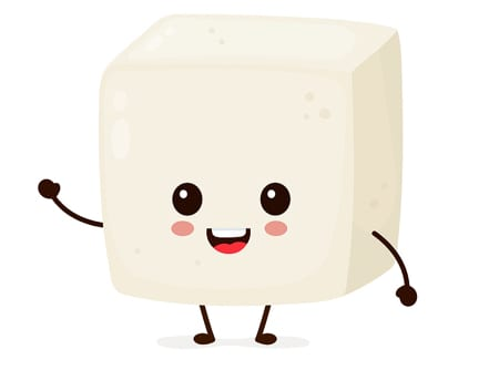 Tofu cartoon