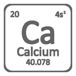 Calcium in chemistry