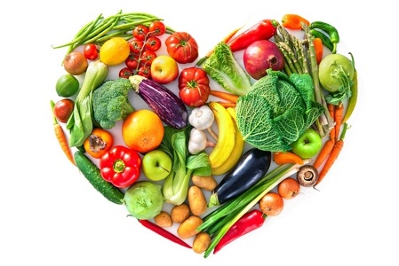 Fruit & Veg Heart