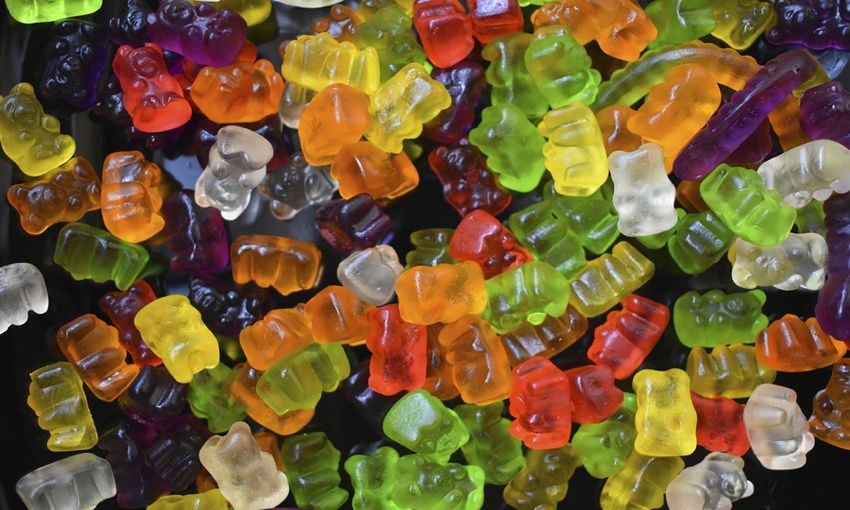 Gelatine is found in gummy bears