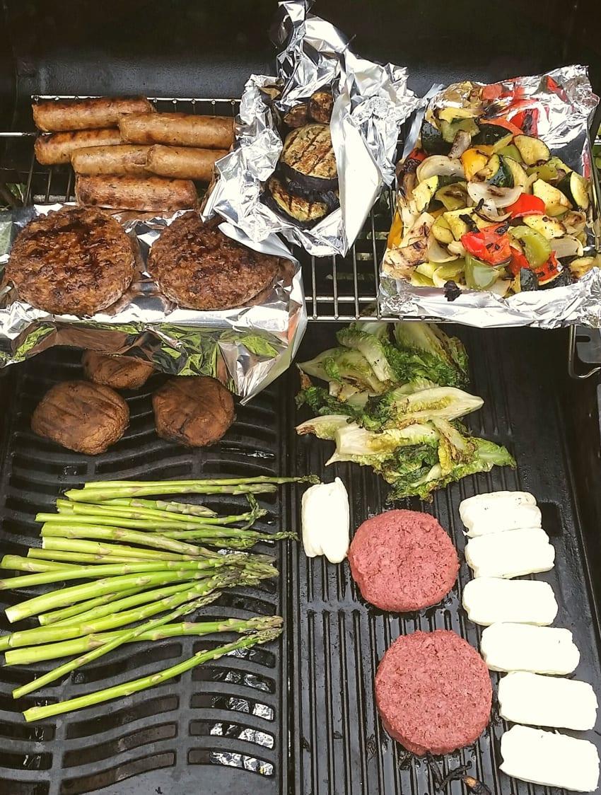 Vegan barbecue example