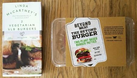 Vegan burgers & sausages