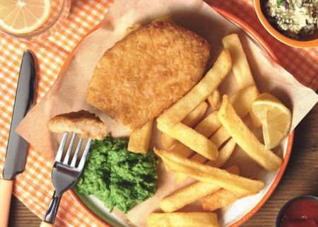Quorn Fish & Chips