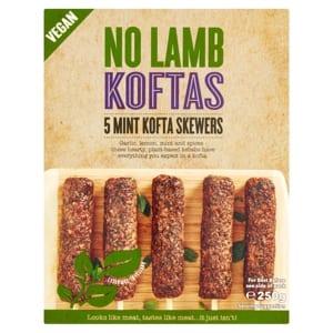 Iceland No Lamb vegan koftas