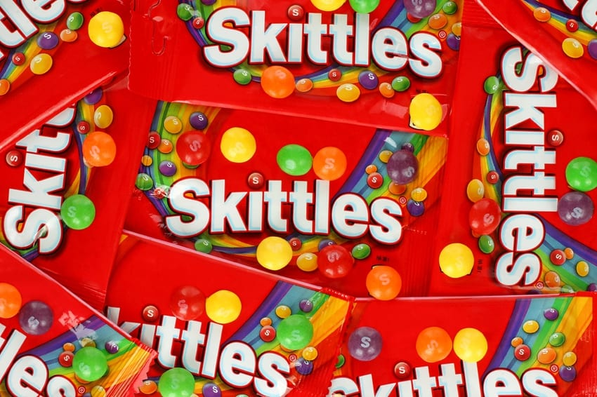 Skittles Packets