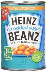 Heinz No Added Sugar Beanz