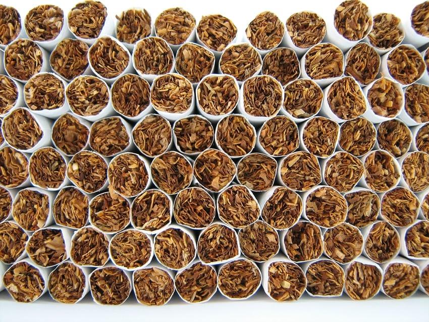 Cigarette closeup