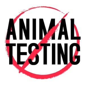 Anti animal testing sign