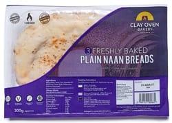 Clay Oven Bakery Naan is Vegan!
