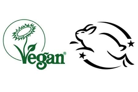 Vegan Society & Leaping Bunny Logos