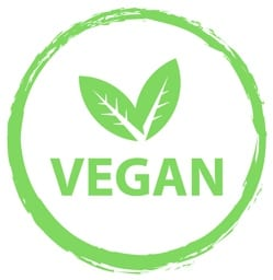 Look for the vegan symbol on the packaging