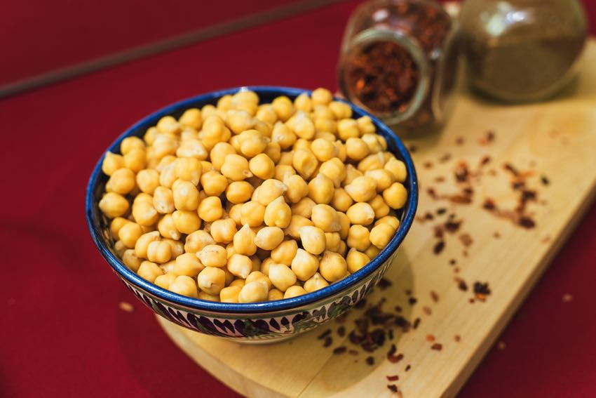 Chickpeas & spices
