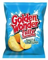 Golden Wonder Salt & Vinegar are vegan!