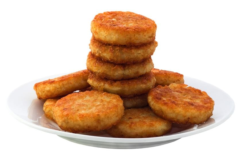 Hash brown pile up