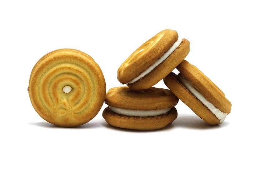 Sandwich biscuits