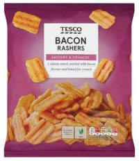 Tesco Bacon Rashers are weirdly vegan!