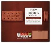 Tesco Bourbon Biscuits