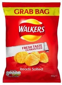 Walkers Ready Salted are vegan!