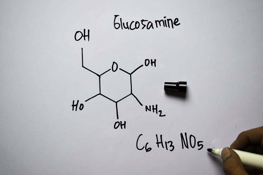 Glucosamine Chemical Structure