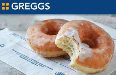 Greggs Ring Doughnut