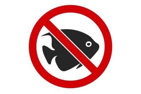 No fish symbol
