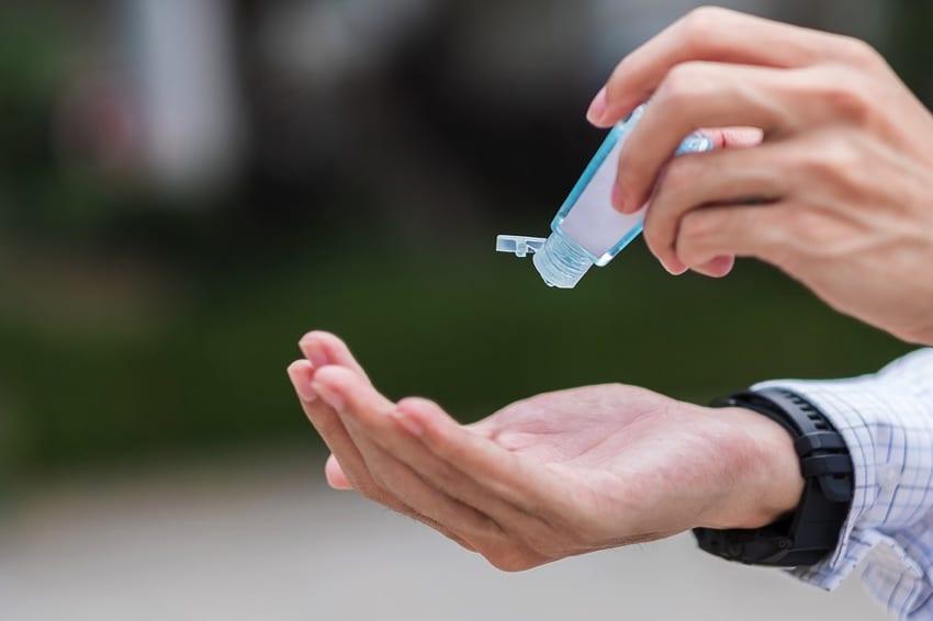 Pocket sized hand sanitizer