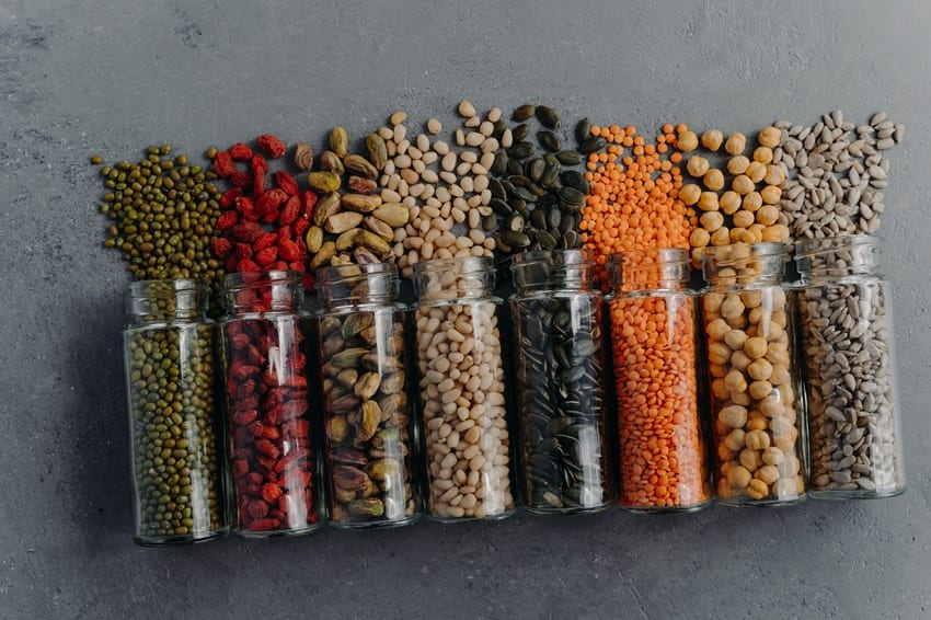 Grains, nuts & seeds