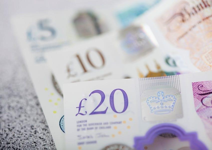 New British bank notes