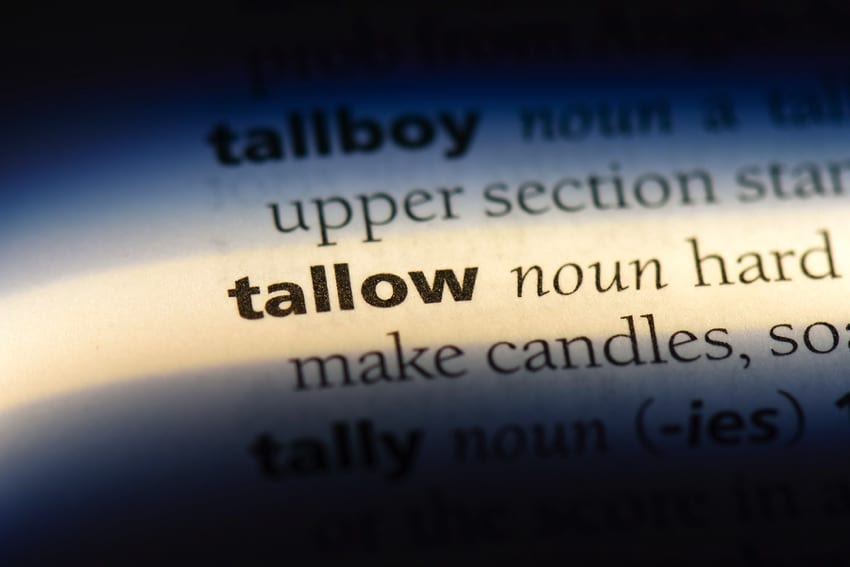Tallow definition