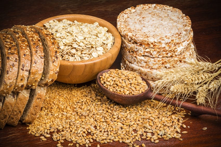 Whole grains & linseed - natural laxatives