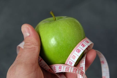 Apple tape measure