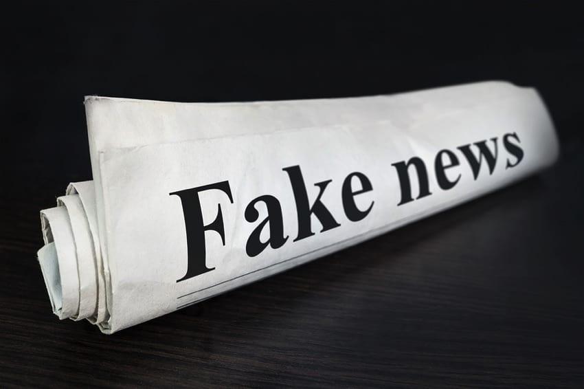 Fake news paper