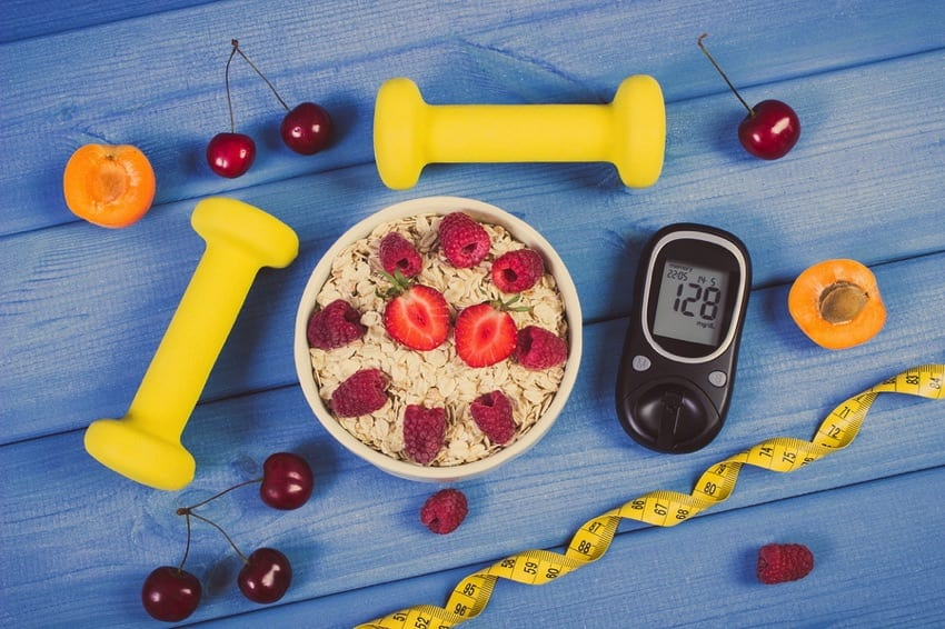 Vegan diet and glucose meter