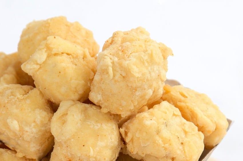 Breaded & fried tofu