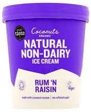 Coconuts Organic Rum 'N Raisin
