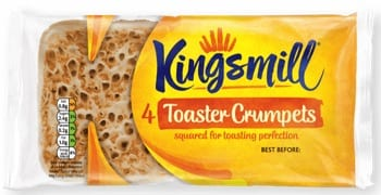 Kingsmill 'Toaster Crumpets'