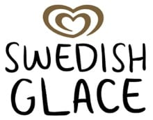 Swedish Glace ice cream logo