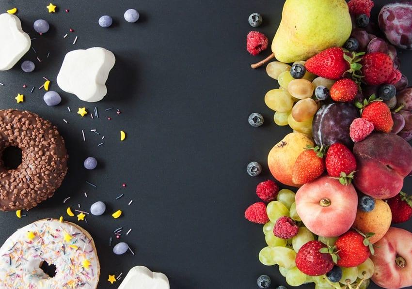 Unhealthy vs healthy vegan diet