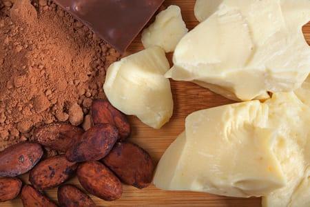 Cocoa butter & powder