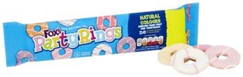 Fox's Party Rings Packaging