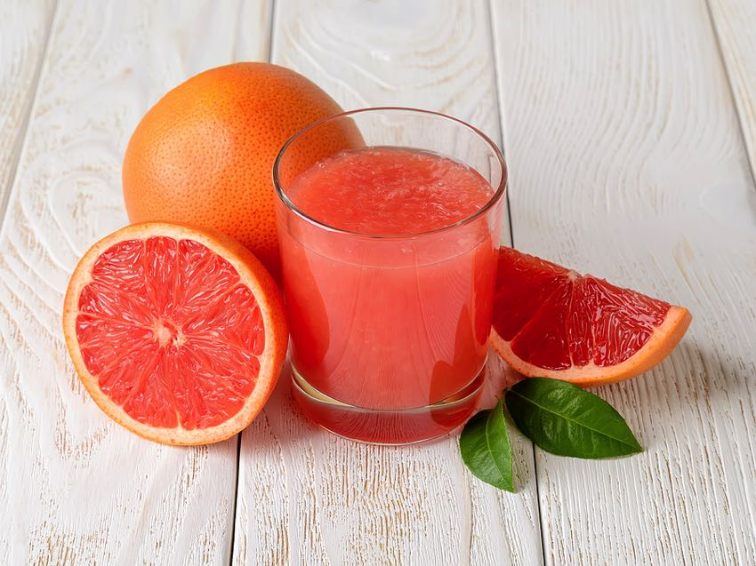 Freshly squeezed grapefruit
