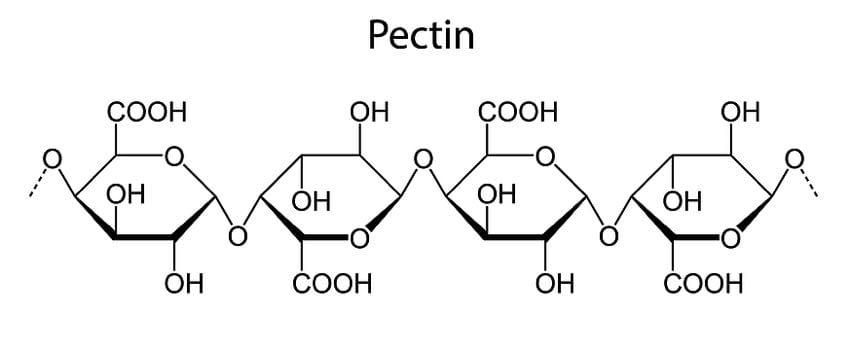 Pectin chemical formula
