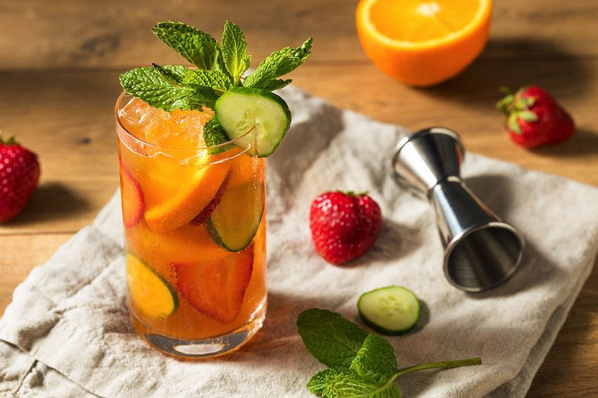 Pimm's Summer Cup