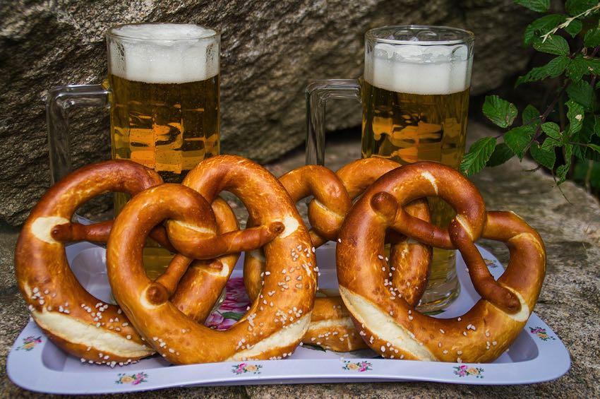 Pretzels & beer
