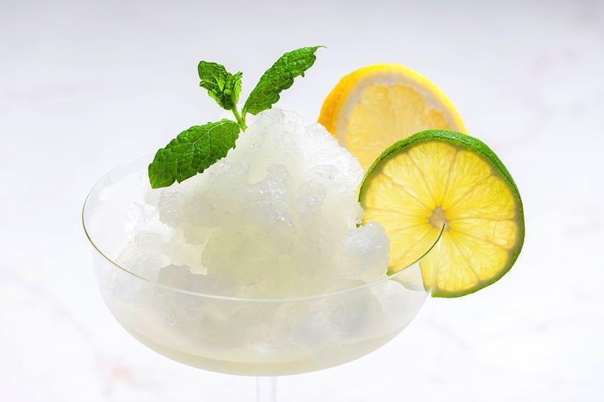 Lemon lime sorbet