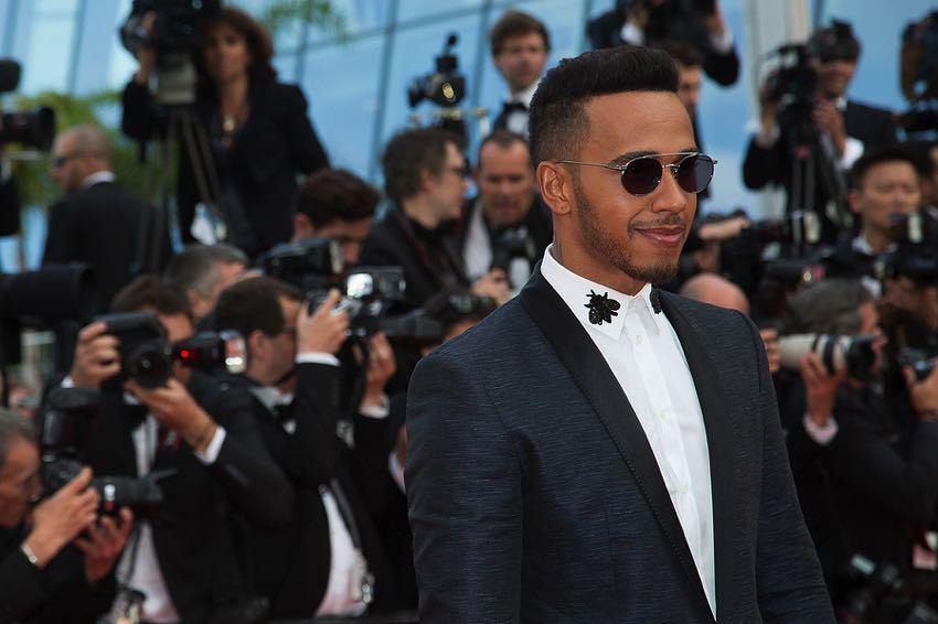 A star studded Lewis Hamilton