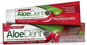 AloeDent Pomegranate toothpaste