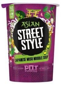 Asian Street Style Pot Noodle