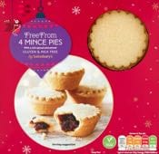 Sainsbury's Free From Mince Pies